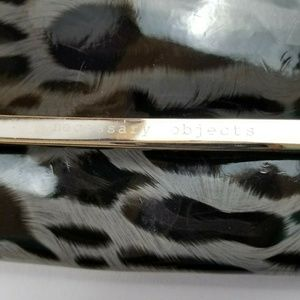 Necessary Objects Bags - Necessary Objects animal Print Clutch Purse Bag